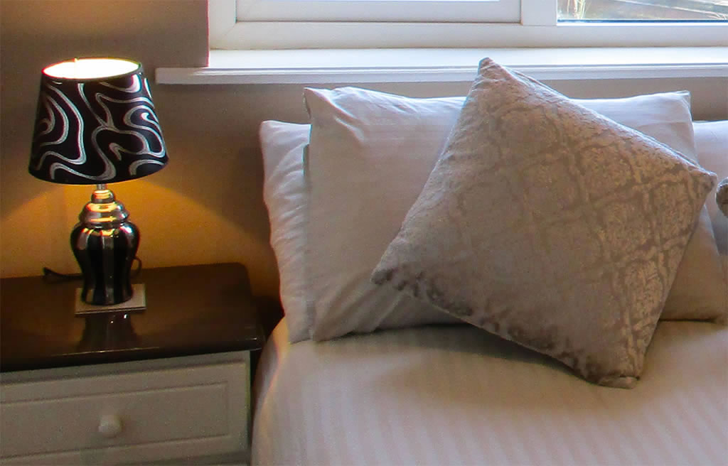 Comfortable Bed Linen at Whitaker Lodge