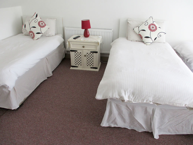 Bedroom with 4 single beds in Fore westmeath